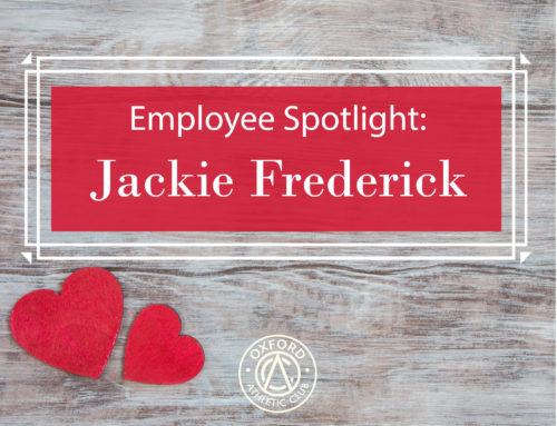 Employee Spotlight: Jackie Frederick