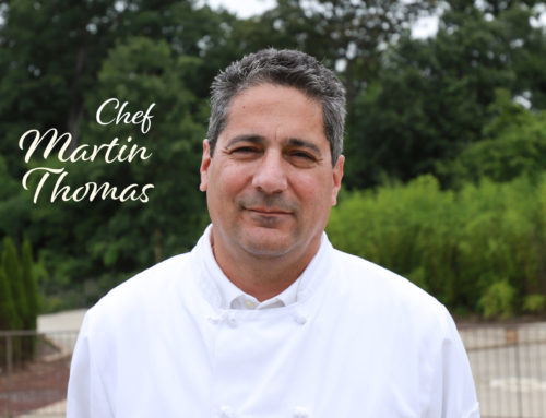 New Chef Announcement: Martin Thomas