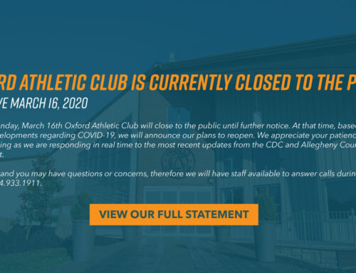 Notice To Members: Oxford Closes until Further Notice