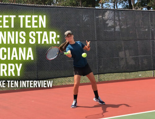 Interview With Teen Tennis Superstar Luciana Perry