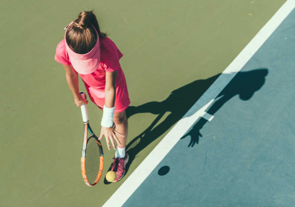 Girls Tennis Header